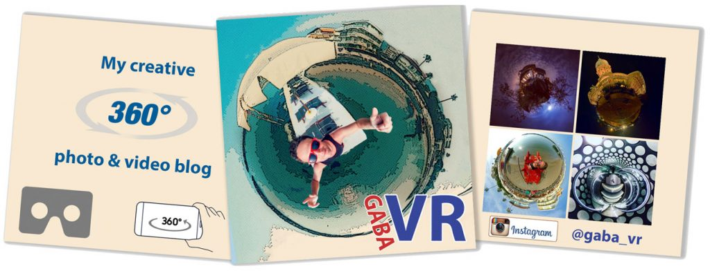 Gaba VR photo and video blog