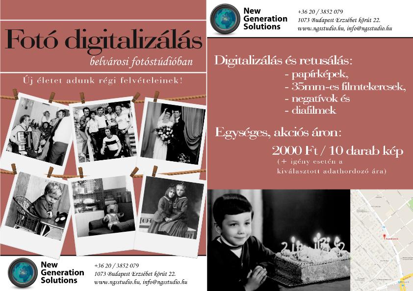 Fotó digitalizálás - Új életet adunk régi képeinek!