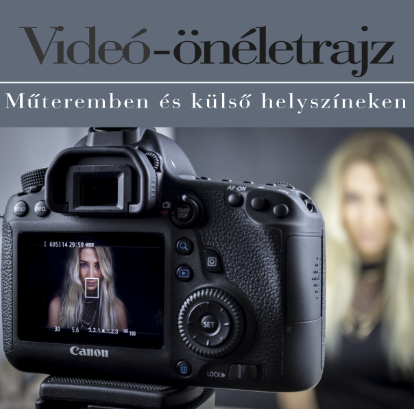Videó-önéletrajz műteremben és külső helyszínen