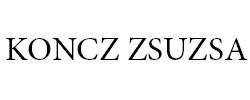 Koncz Zsuzsa