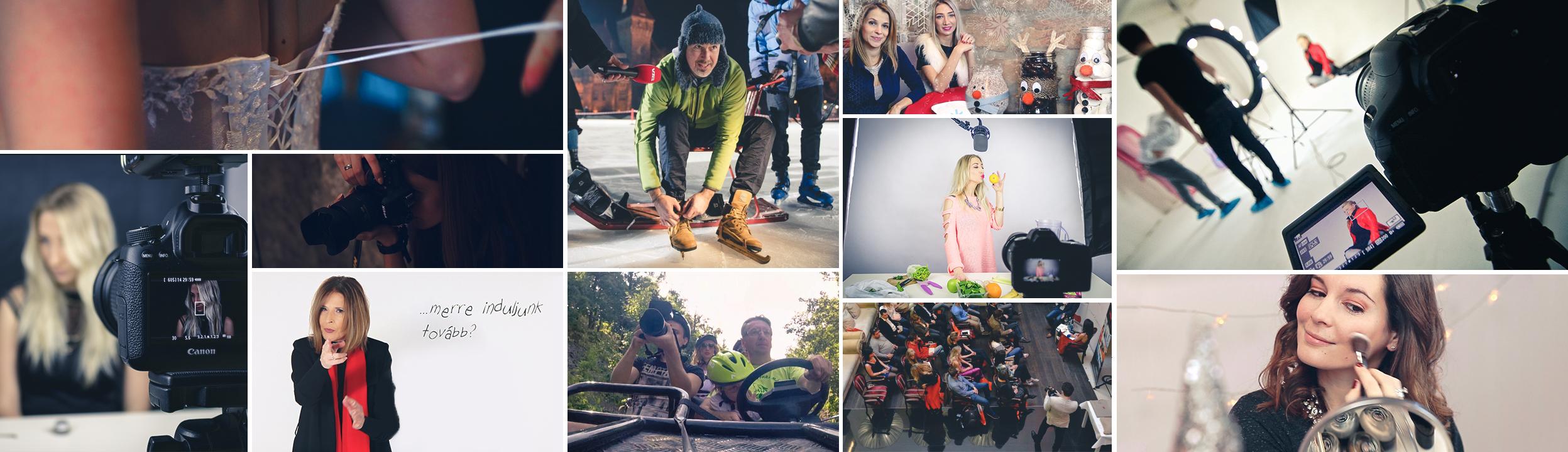 Filmes és videós tartalomgyártás - NGS Stúdió